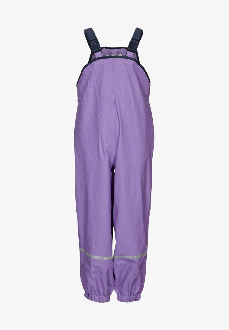 Playshoes - Spodnie przeciwdeszczowe - flieder