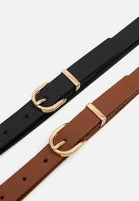 Anna Field - 2 PACK - Belt - cognac - 2