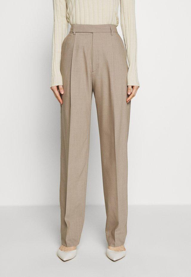 JULIE TROUSER - Kalhoty - beige