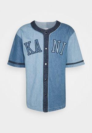 COLLEGE BLOCK BASEBALL SHIRT UNISEX - Camisa - blue