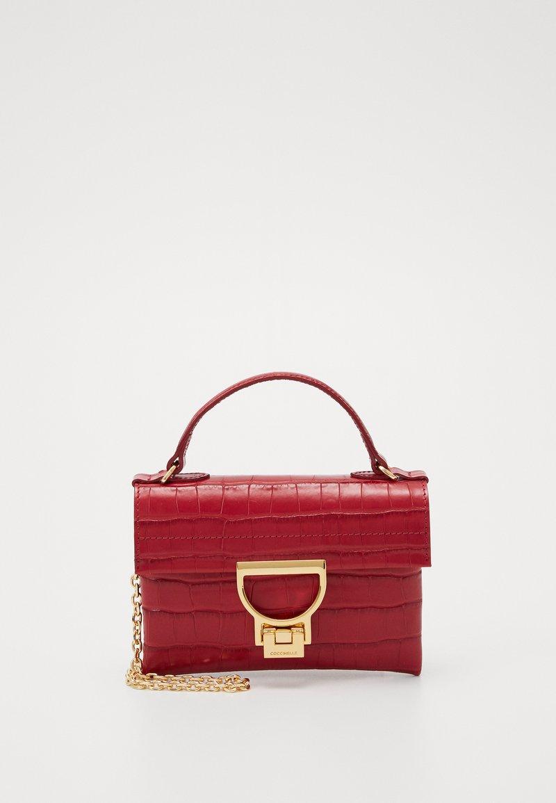 Coccinelle - MIGNON SHINY SOFT - Across body bag - cherry