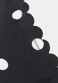 LASCANA - WIRE - Bikini top - black/white - 2
