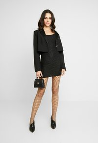 Nly by Nelly - SHIMMER DRESS - Robe de soirée - black - 1