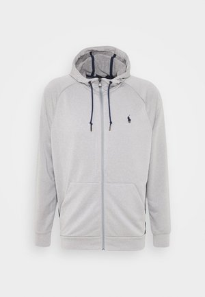 LONG SLEEVE - Zip-up hoodie - andover heather