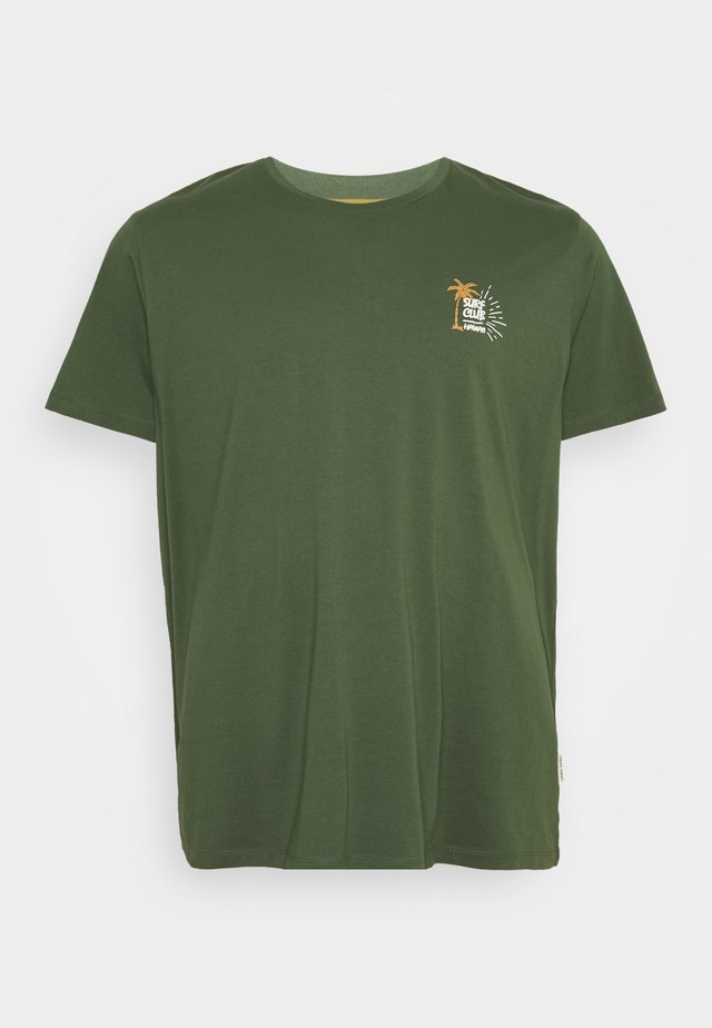ROGER TEE - T-shirt print - thyme