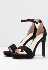 BEBO - CIMONA - Sandály na vysokém podpatku - black - 4