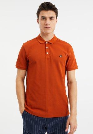 Polo shirt - saffron red