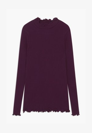 ORGANIC - Long sleeved top - potent purple