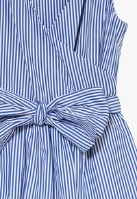 Polo Ralph Lauren - WRAP DRESS - Day dress - blue - 4