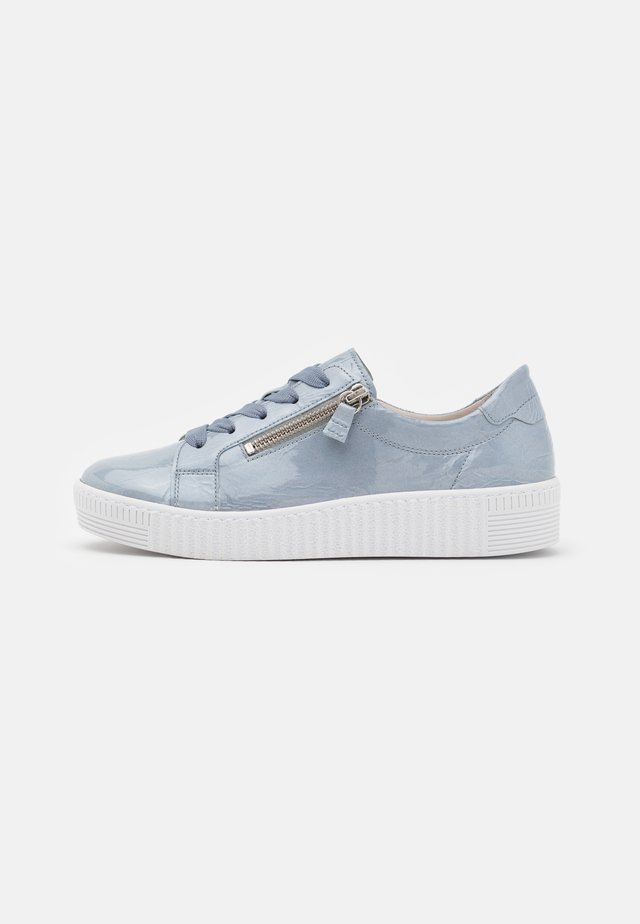 Sneakers laag - aquamarin/ice