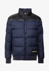 Calvin Klein Jeans - PADDED WESTERN PUFFER - Winter jacket - night sky / black - 4