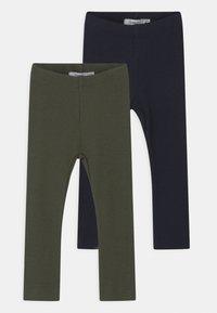 Name it - NBMKABILLE 2 PACK UNISEX - Leggings - Trousers - dark sapphire - 0