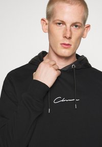 CLOSURE London - CONTRAST UTILITY HOODY - Sweat à capuche - black - 3