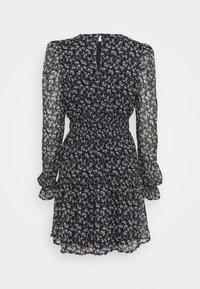 Vero Moda - VMHIBISCUS SHORT DRESS - Day dress - navy blazer/liberty - 1