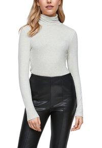 s.Oliver - Long sleeved top - cream melange - 0