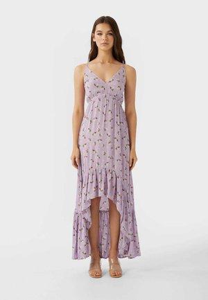 Maxi šaty - purple