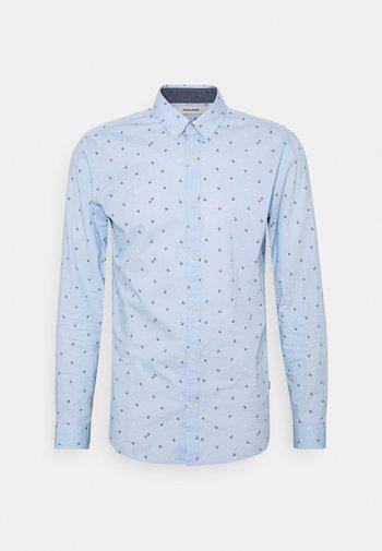 JJFRANK PLAIN - Skjorta - cashmere blue