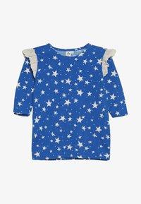 Noé & Zoë - RUFFLE DRESS - Jersey dress - blue - 2