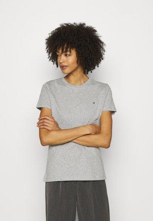 HERITAGE CREW NECK TEE - Basic T-shirt - light grey heather