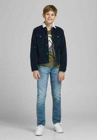 Jack & Jones Junior - GLENN ORIGINAL GE - Jeans slim fit - blue denim - 1