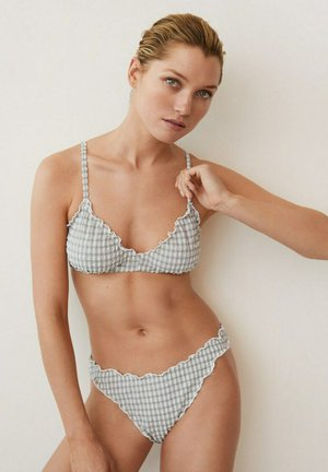 Bikini pezzo sopra - grey