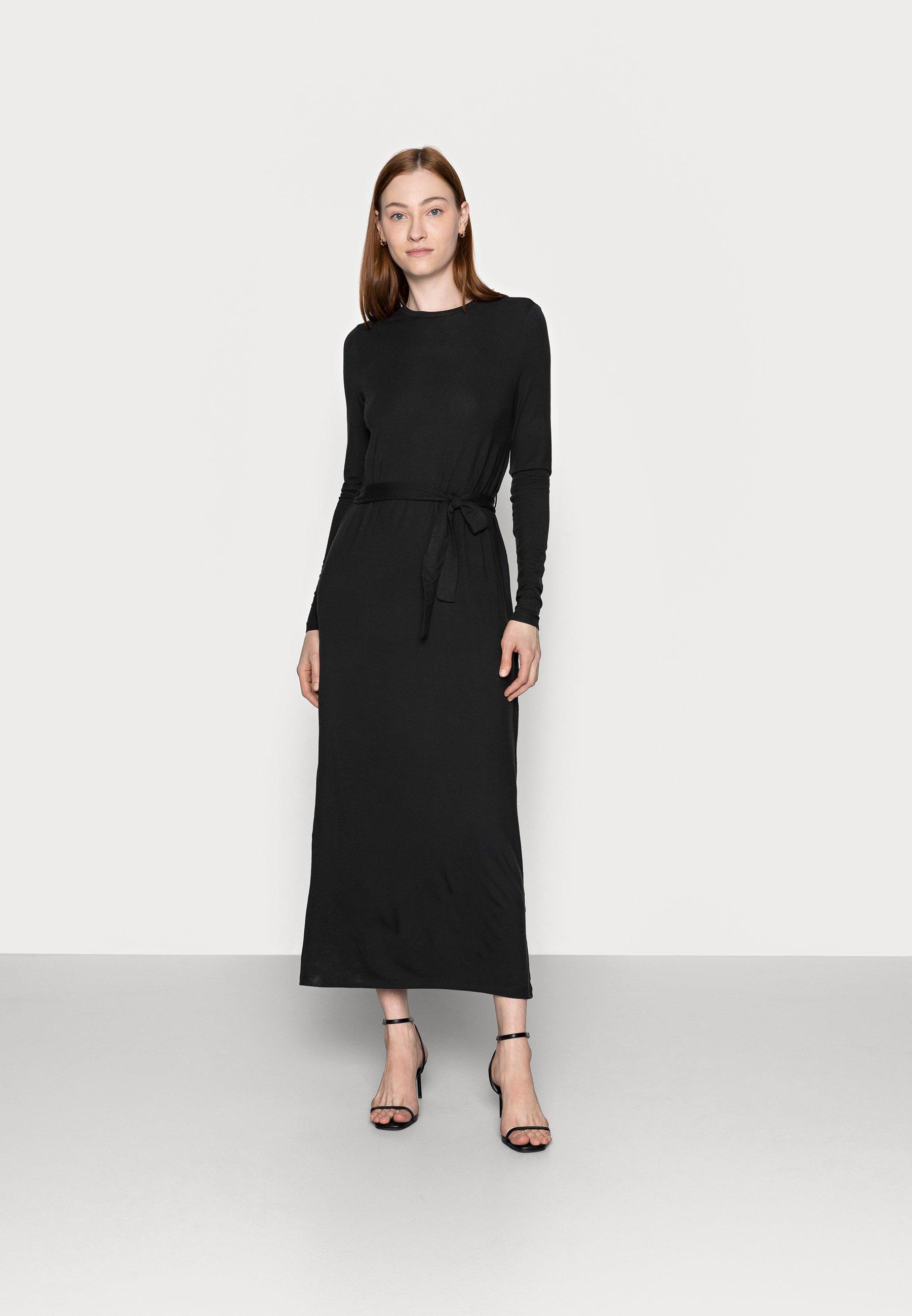 Women VMNAVA TIE ANKLE DRESS - Maxi dress