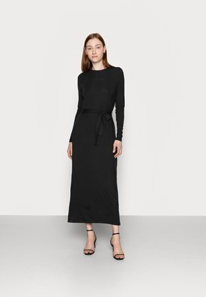 VMNAVA TIE ANKLE DRESS - Robe longue - black