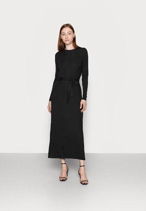VMNAVA TIE ANKLE DRESS - Maxikjole - black