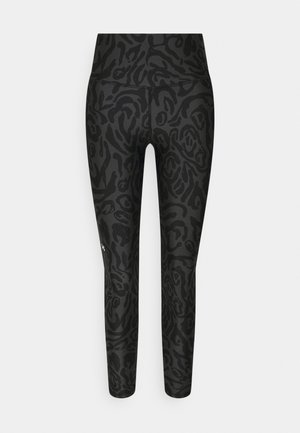 ANKLE LEG - Legging - black