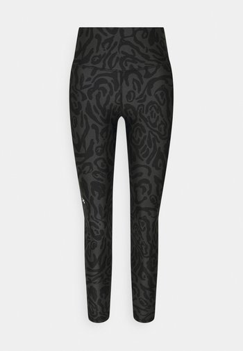 ANKLE LEG - Collant - black