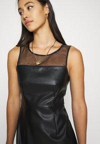 ONLY - ONLVIBE MIX DRESS - Kjole - black - 4