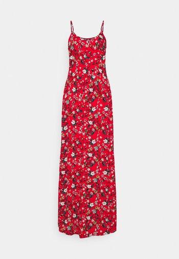 VMSIMPLY EASY SINGLET DRESS - Maxi dress - goji berry/lotte