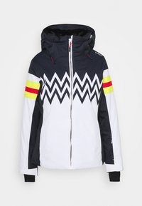WOMAN JACKET FIX HOOD - Skijakke - bianco