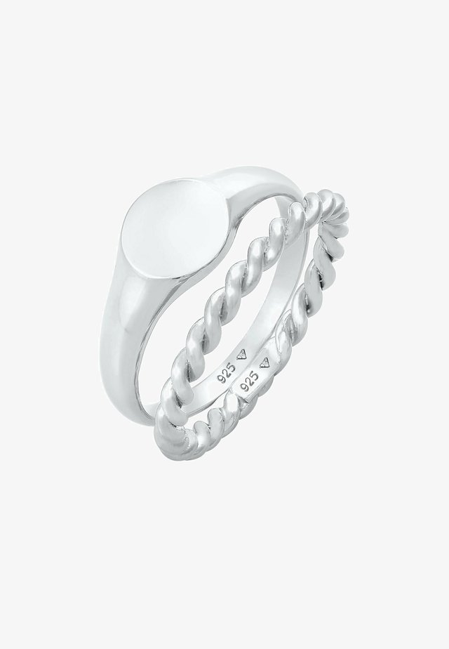 TWIST 2ER SET  - Anello - silber