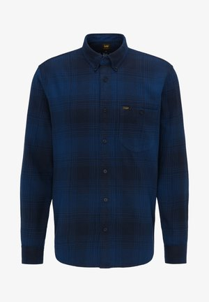 RIVETED - Shirt - washed blue