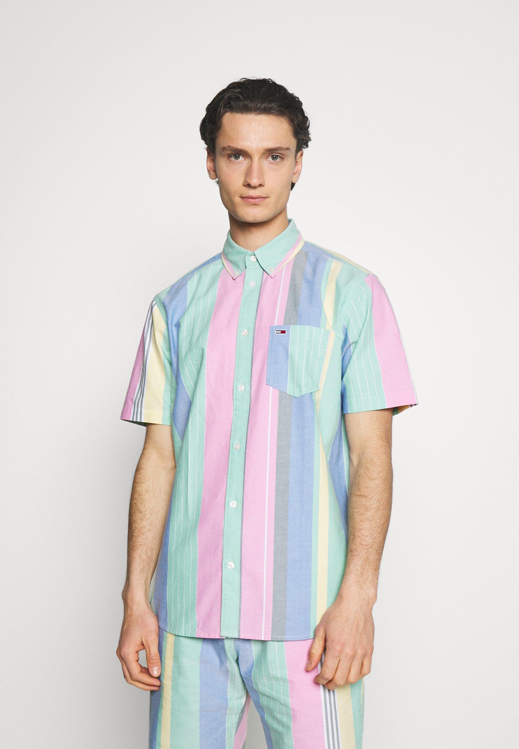 Men STRIPE SHIRT - Shirt - romantic pink