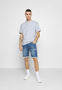 Only & Sons - ONSPLY  - Jeansshorts - blue denim - 1