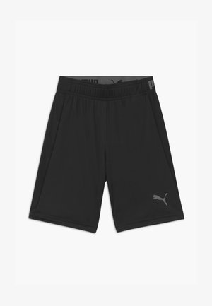 UNISEX - Sports shorts - black