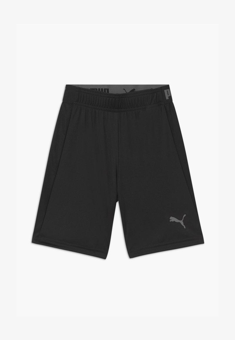 Puma - UNISEX - Sports shorts - black