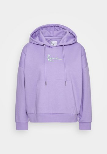 SMALL SIGNATURE HOODIE - Hoodie - lilac