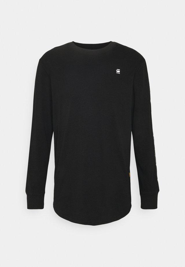 LASH - Top sdlouhým rukávem - black