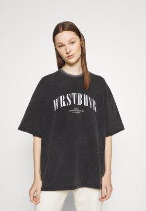 TWISTED VINTAGE WOMEN - Print T-shirt - vintage black