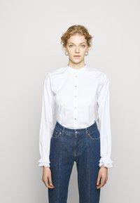 Bruuns Bazaar - POSY EDITOR - Button-down blouse - white - 3