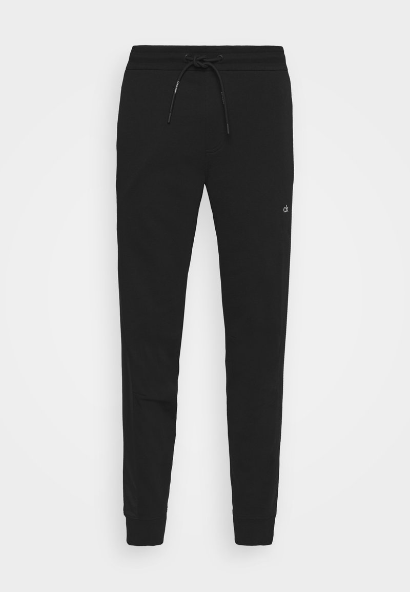 Calvin Klein - ELEVATED - Tracksuit bottoms - black
