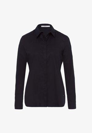 STYLE VICTORIA - Button-down blouse - black