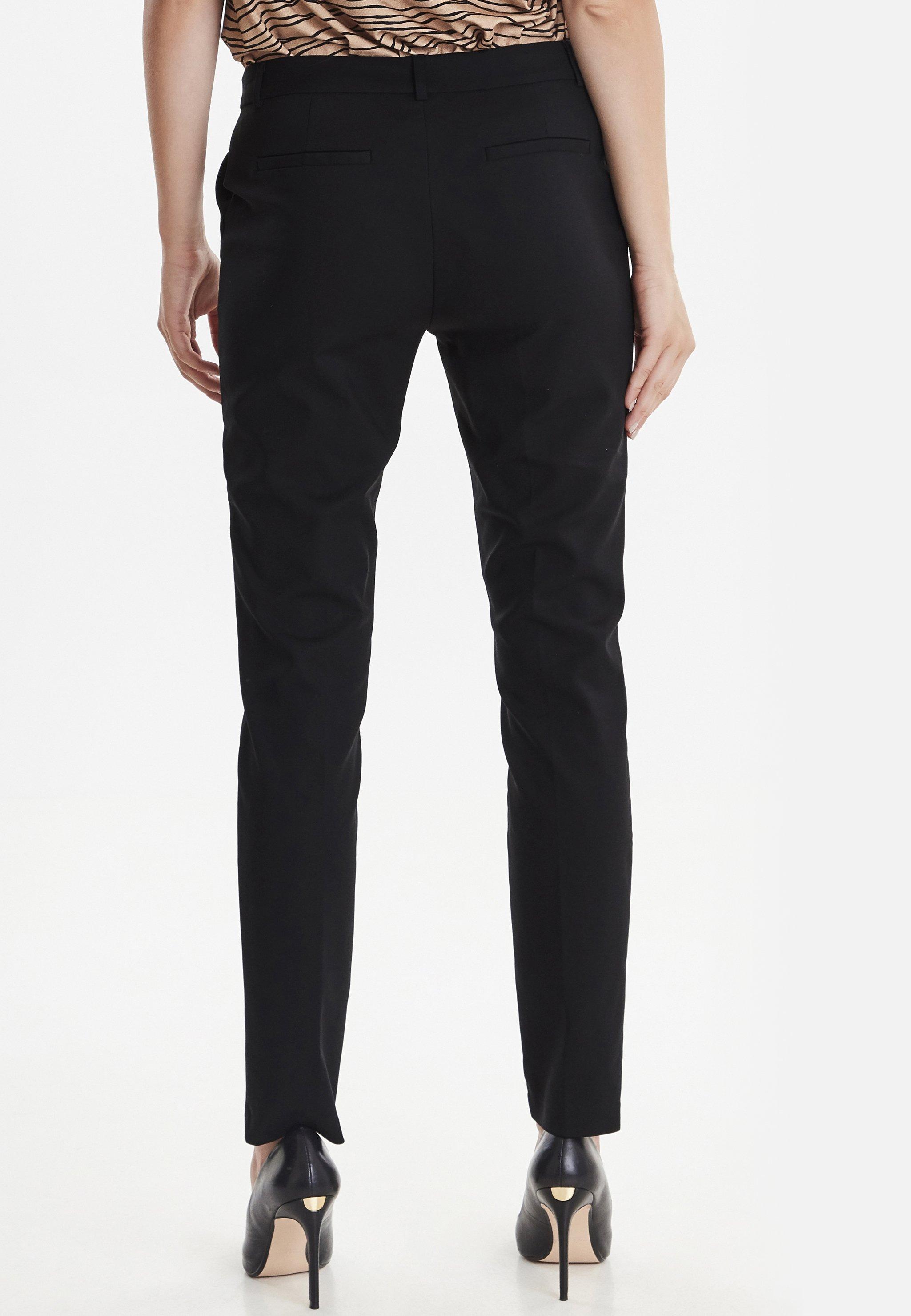 b.young BYDENIA  - Pantalon classique - black - Pantalons & Leggings Femme Alygm