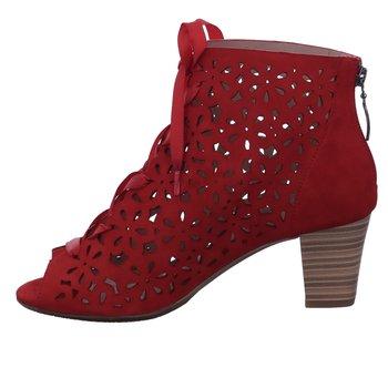 LOTTA  - Peeptoe heels - rot