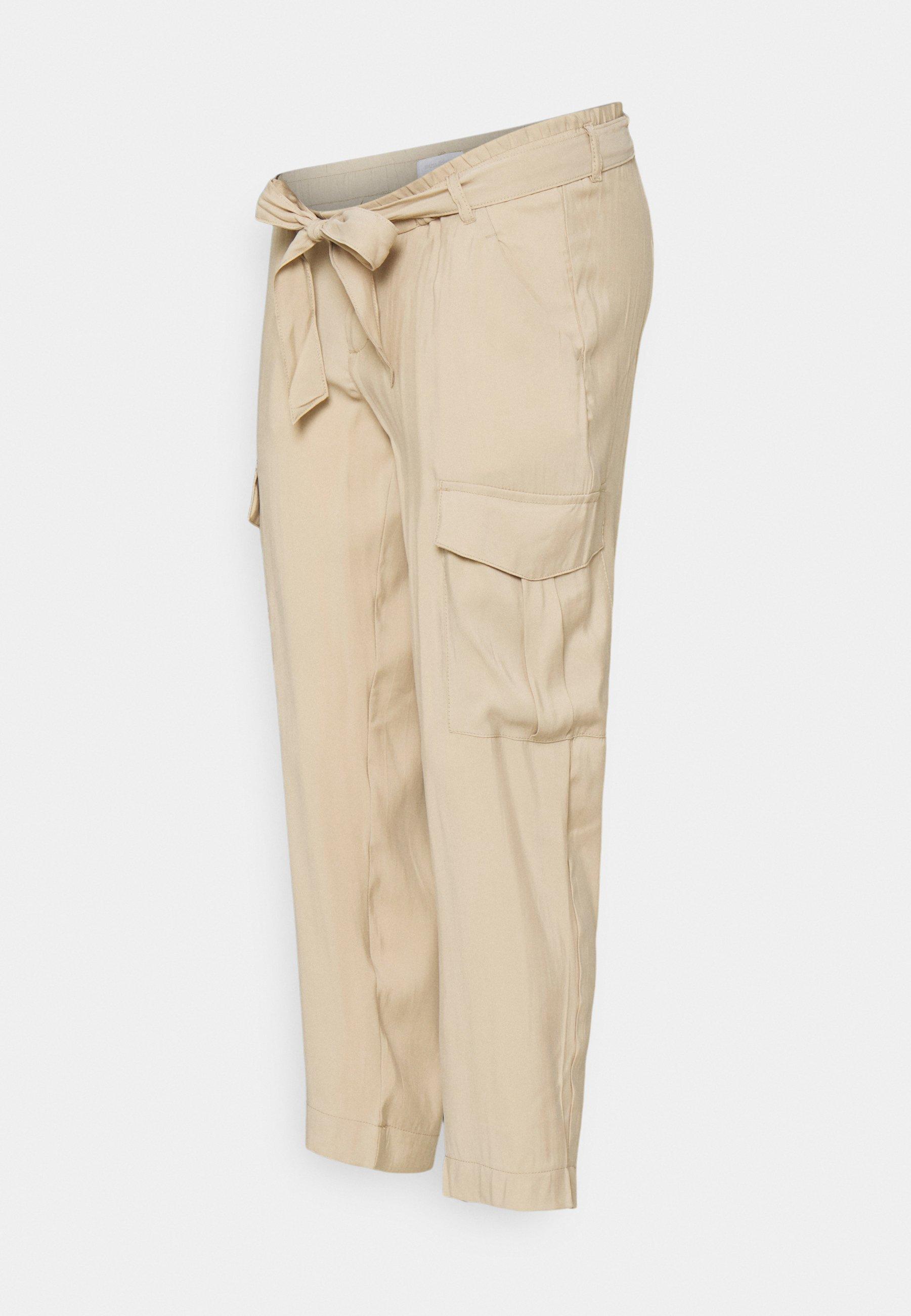 Women MLBENITA 7/8 WOVEN PANTS - Cargo trousers