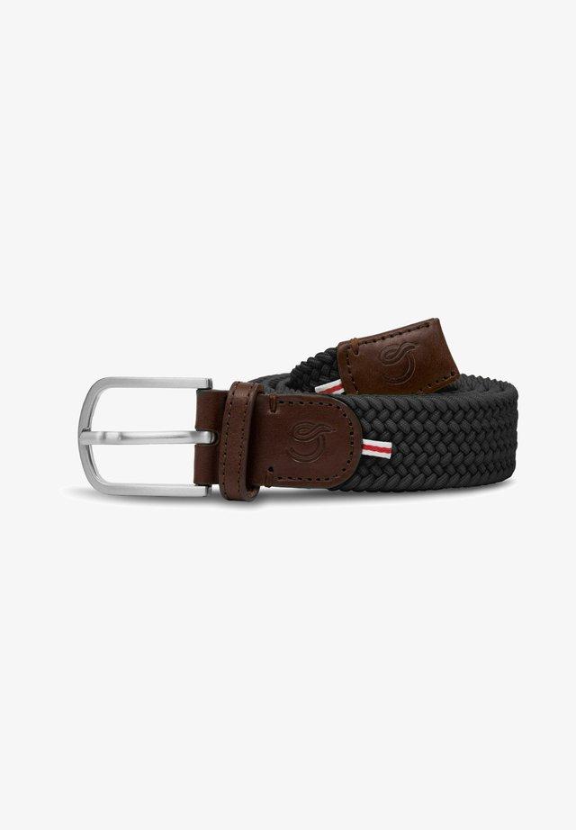 NEW YORK - Braided belt - grey
