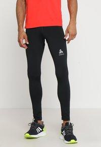 ODLO - BOTTOM LONG CORE WARM - Leggings - black - 0